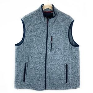 Gray Orvis XXL Fleece Vest
